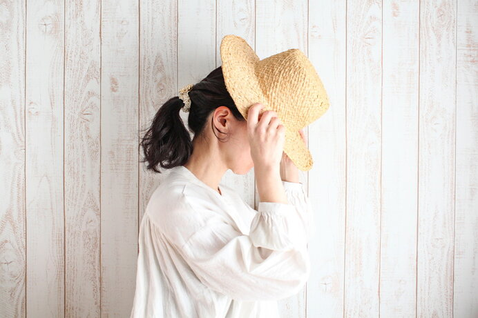 紫外線対策のために帽子を着用するときの注意点