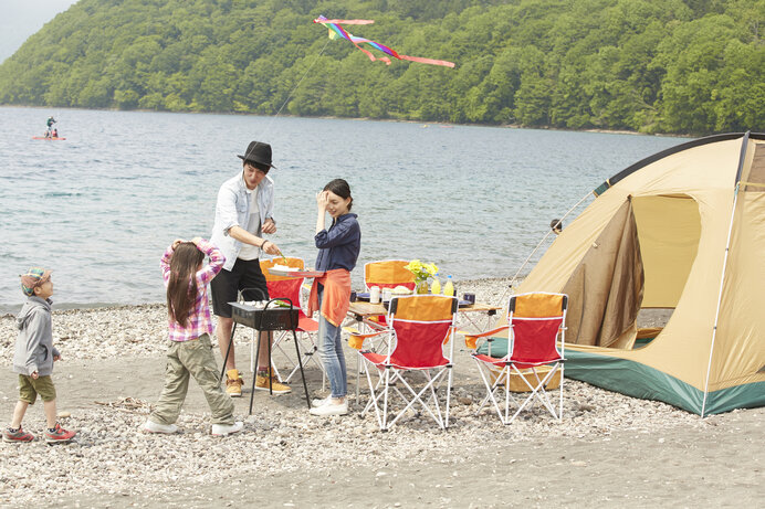 まずはデイキャンプでキャンプ場に慣れるのもおすすめです