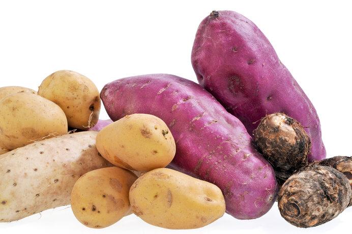 イモを表す漢字は「芋」「薯」「藷」「蕷」。これらの違いは?