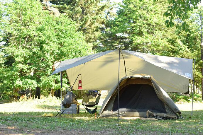 まずはドーム型テントとツールーム型テントがおすすめ