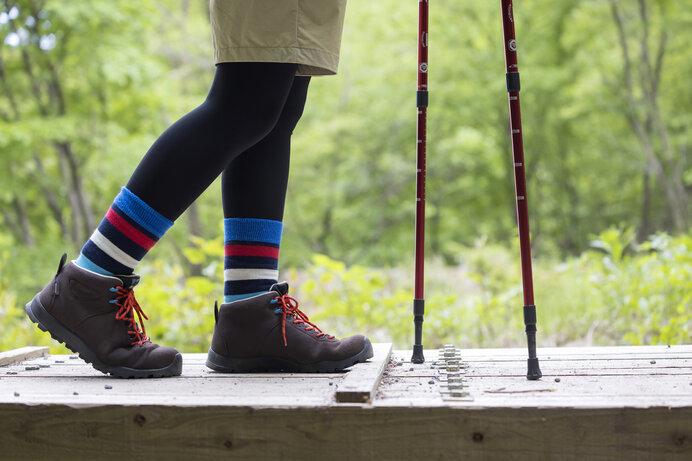 登山初心者はミドルカットのトレッキングシューズが最適