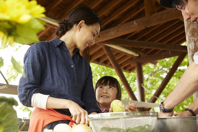 みんなで協力しながら作る料理の味はきっと格別。