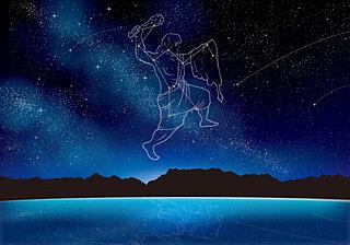 ハレー彗星の贈り物「オリオン座流星群」が21日に極大。冬の大三角形、冬のダイヤモンドにも注目!