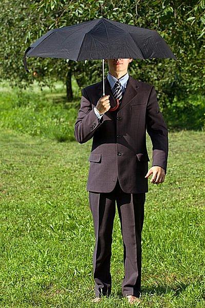 まずは雨傘感覚でトライ!