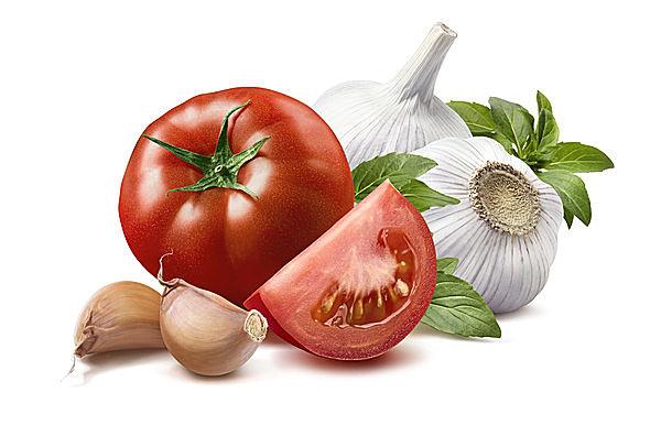 夏バテに有効な食材、トマト&ニンニク