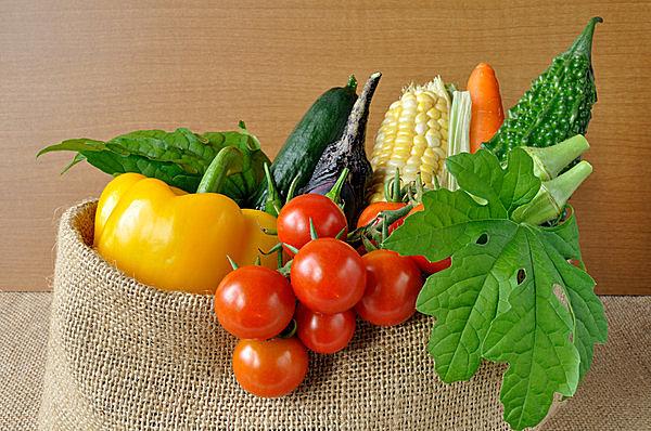 新鮮な夏野菜たちを薬膳に!