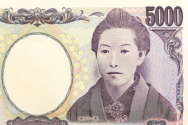 五千円の肖像に、女性として初めて描かれた樋口一葉