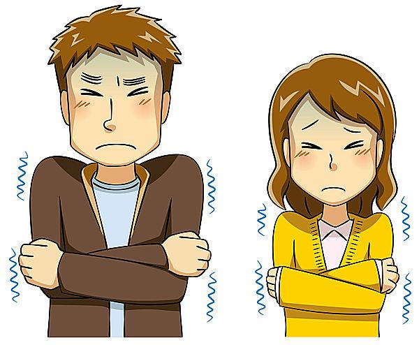 カラダに悪影響をおよぼす「冷え」と「低体温」。意外にも男性の4人に一人が、隠れ冷え性という報告も⁉