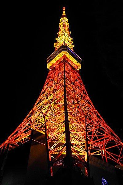 東京の進化を見守ってきた東京タワー